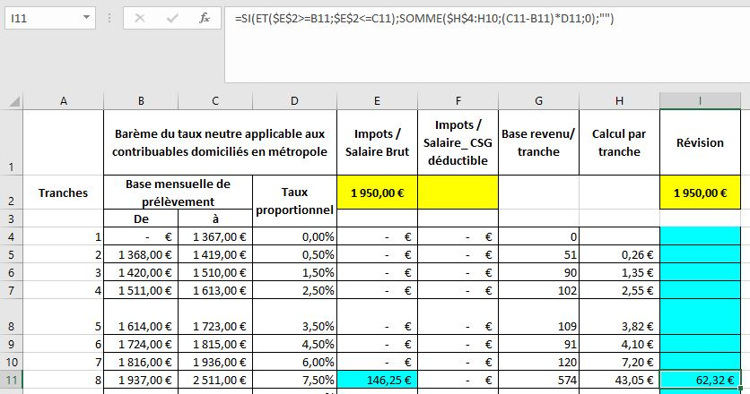 calcul des imp u00f4ts 2019  u00e0 la source avec les nouveaux